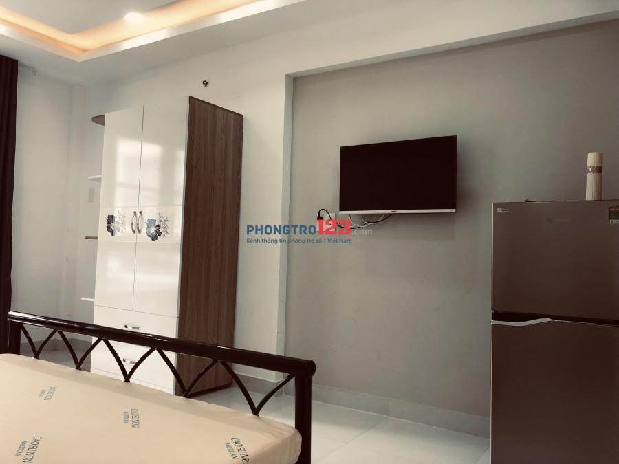 Phòng mới đẹp full nội thất Phú Nhuận hẻm lớn yên tĩnh