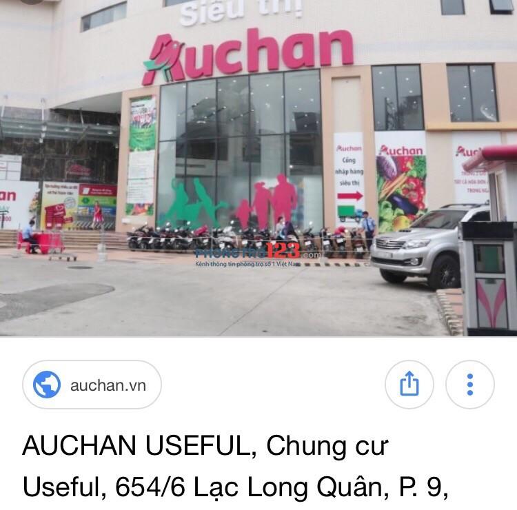 Căn hộ cho thuê trung tâm quận Tân Bình
