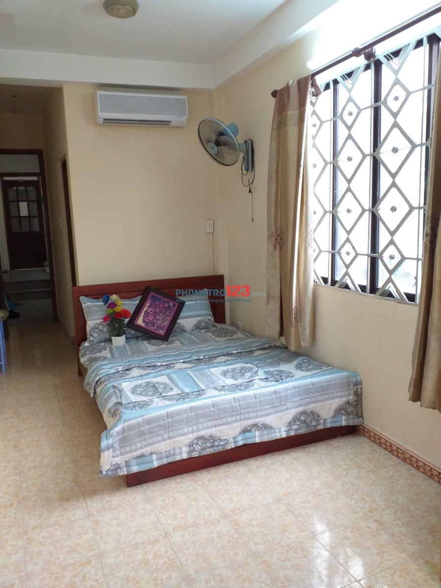 Cho thuê căn hộ dịch vụ full nội thất-3,5tr-25m2