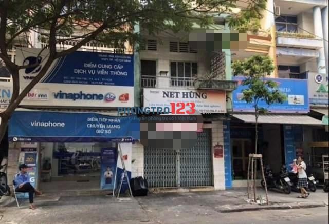Cho thuê mặt bằng hoặc nguyên căn nhà mặt tiền Vĩnh Hội, Q.4. Lh: Mr Nam 0903993891