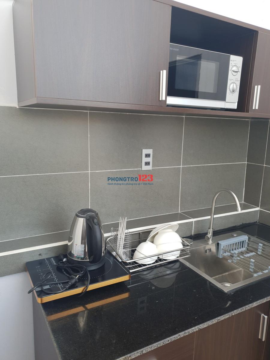 Căn hộ dịch vụ full nội thất chợ Tân Định
