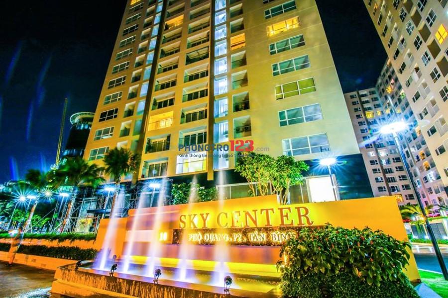 Cho thuê căn hộ Sky Center 2pn Full nội thất Phổ Quang, Q.Tân Bình, giá 19tr. Lh Ms Linh