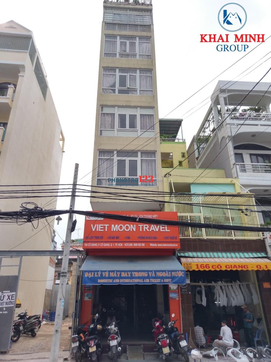 Phòng ĐẸP + Full NỘI THẤT, có thang máy, 168 Cô Giang, Q.1