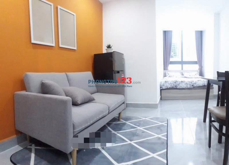 Căn hộ dịch vụ Full nội thất cao cấp mặt tiền Phan Văn Trị, Q.Bình Thạnh. LH: Mr Bảo 0935263858