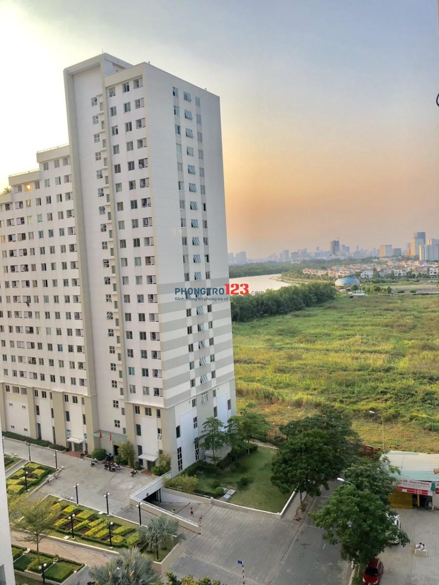 Cần bán và cho thuê căn hộ Belleza Q.7, dt: 80m2, giá 8tr/th, view sông thoáng mát nhà sạch. LH: 0812258239