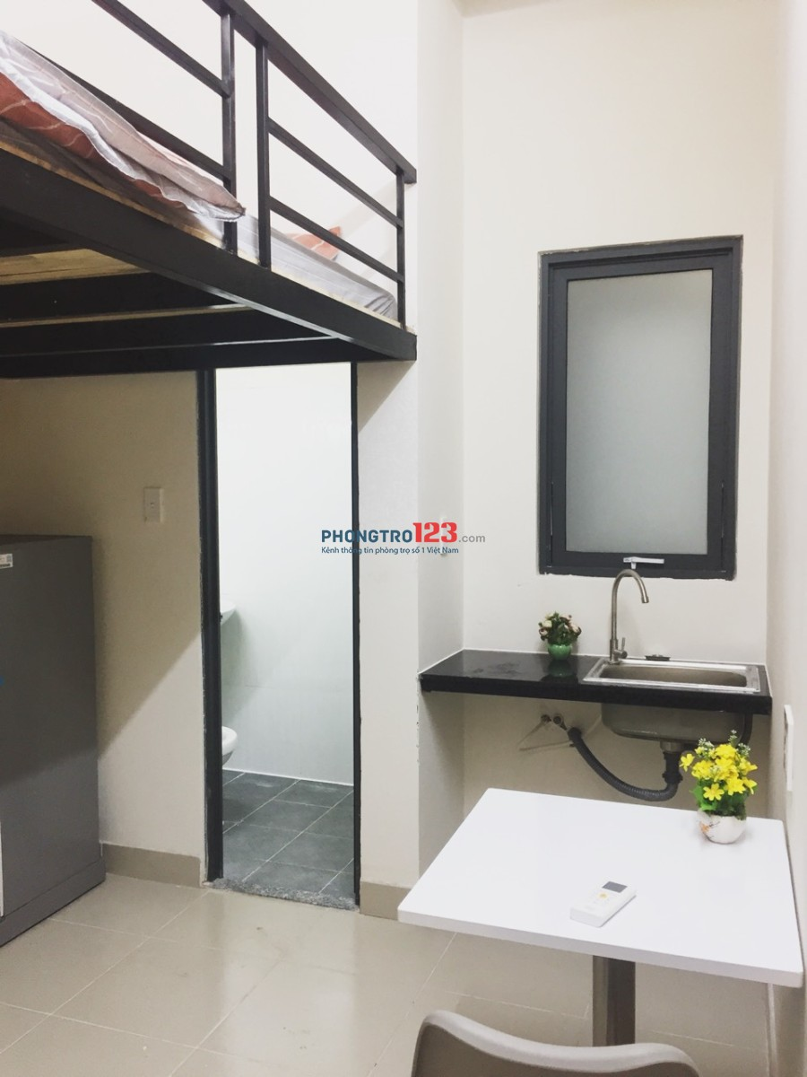 Phòng trọ Full nội thất mới 100%, tiện nghi, sang trọng, đẳng cấp Bình Thạnh