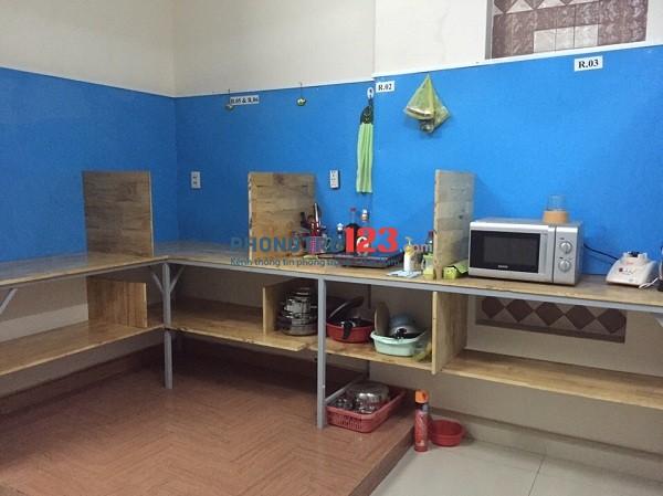 Phú Nhuận cho thuê căn hộ dịch vụ nguyên tầng 60m2, Full NT, Free DV, Có sân vườn cây xanh khu bếp riêng