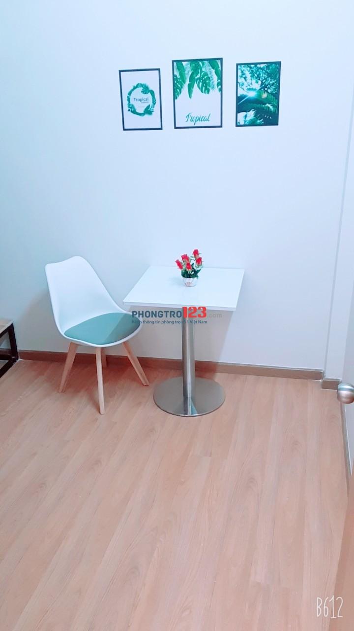 Phòng trọ mới 100%, nội thất đầy đủ cao cấp tiện nghi sang trọng Bình Thạnh
