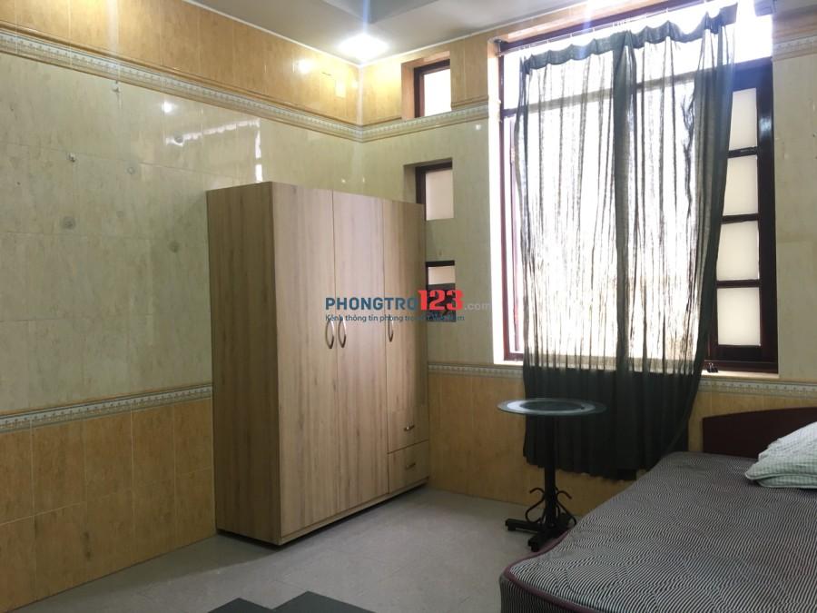 Phòng cho thuê đầy đủ tiện nghi số 25 Võ Thị Sáu, P.Đa kao, Quận 1