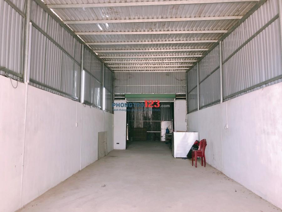 Cho thuê kho xưởng 270m2 mặt tiền đường 12m tại huyện Củ Chi, Giá 7tr/tháng. LH Ms Lệ