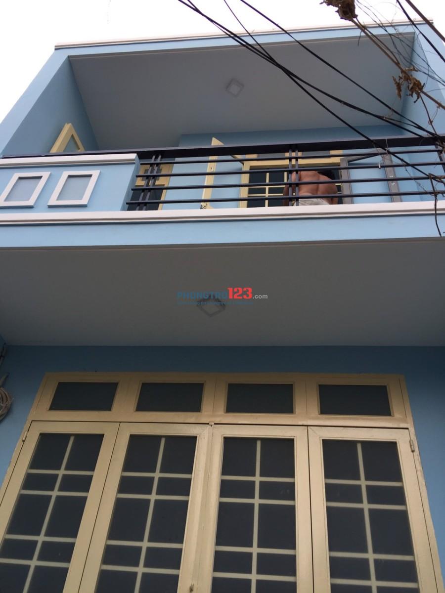 Cho thuê nhà nguyên căn 1 lầu Hẻm 2683 Phạm Thế Hiển, Q.8, giá 12tr/tháng. LH Ms Hằng