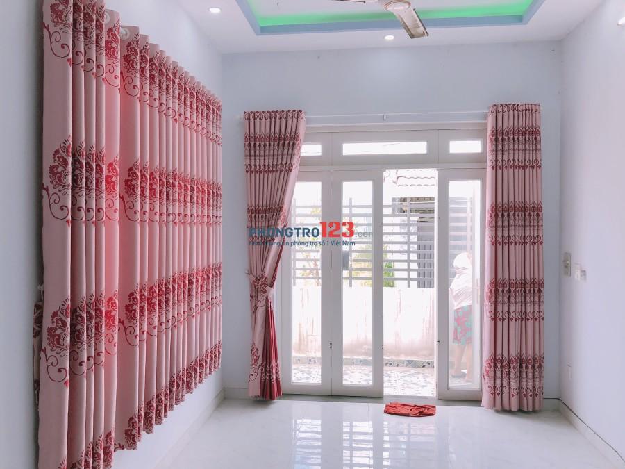Cho thuê biệt thự mini kiến trúc kiểu Châu Âu Tại TX43, Q.12, giá 7,5tr/tháng. LH Cô Châu