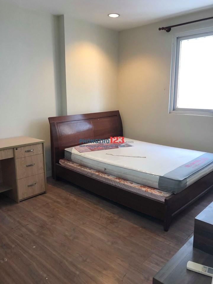 Cho 2-3 nữ thuê 1 phòng chung cư đường Võ Văn Kiệt, đầy đủ nội thất