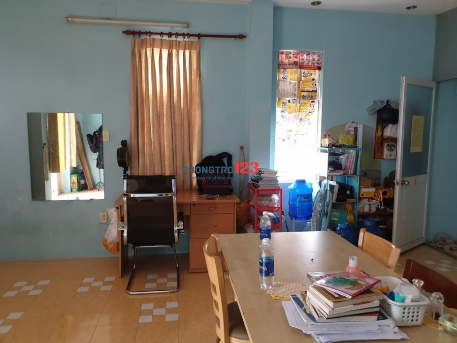 Tìm nữ miền Tây ở ghép (đã đi làm), phòng đối diện sthị Emart Phan Văn Trị