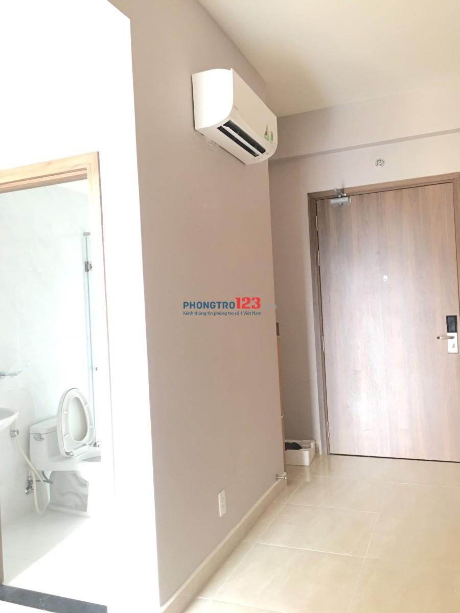 Cần cho thuê căn hộ 1PN vừa ở vừa làm văn phòng, đã vào nội thất cơ bản 11tr/ tháng