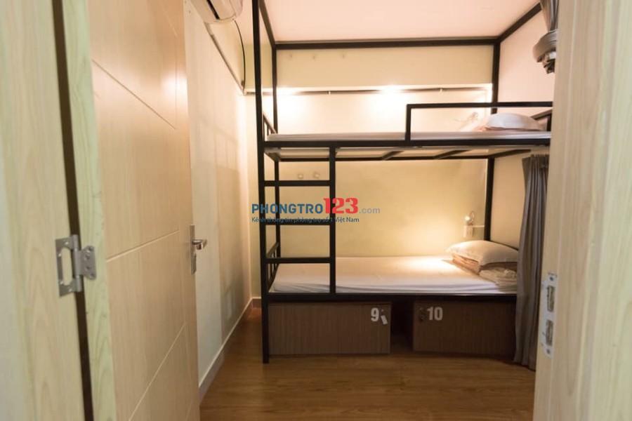 Nhà trọ giường tầng (dorm) ngay phố Tây Bùi Viện - Chỉ 1tr9