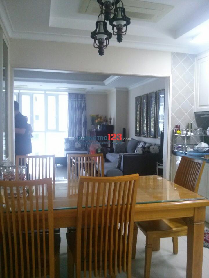 Cho thuê căn hộ chung cư tại Imperi, 3PN, 131m2, full nội thất. Liên hệ 0898751273.
