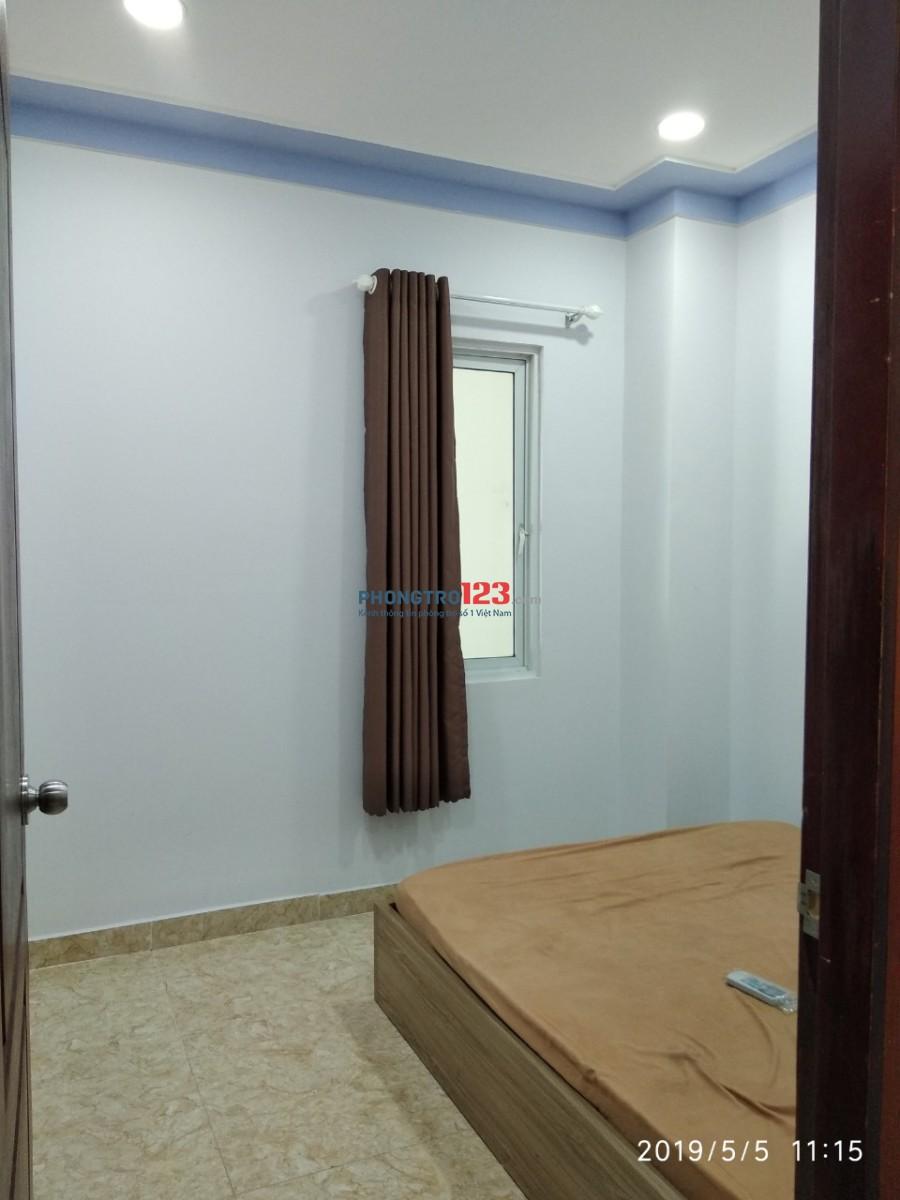 Cho thuê CHDV 55m2, 01PN, 01PK, nội thất cơ bản, phường Tân Quy, Quận 7, giá 7 triệu. 0964667965