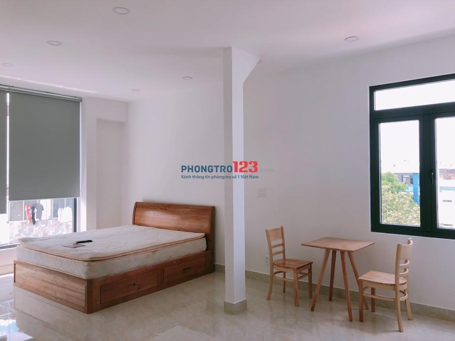 Cho thuê căn hộ dịch vụ full nội thất mặt tiền đường Bùi Thị Xuân, Q.Tân Bình. Giá từ 5,6tr/tháng