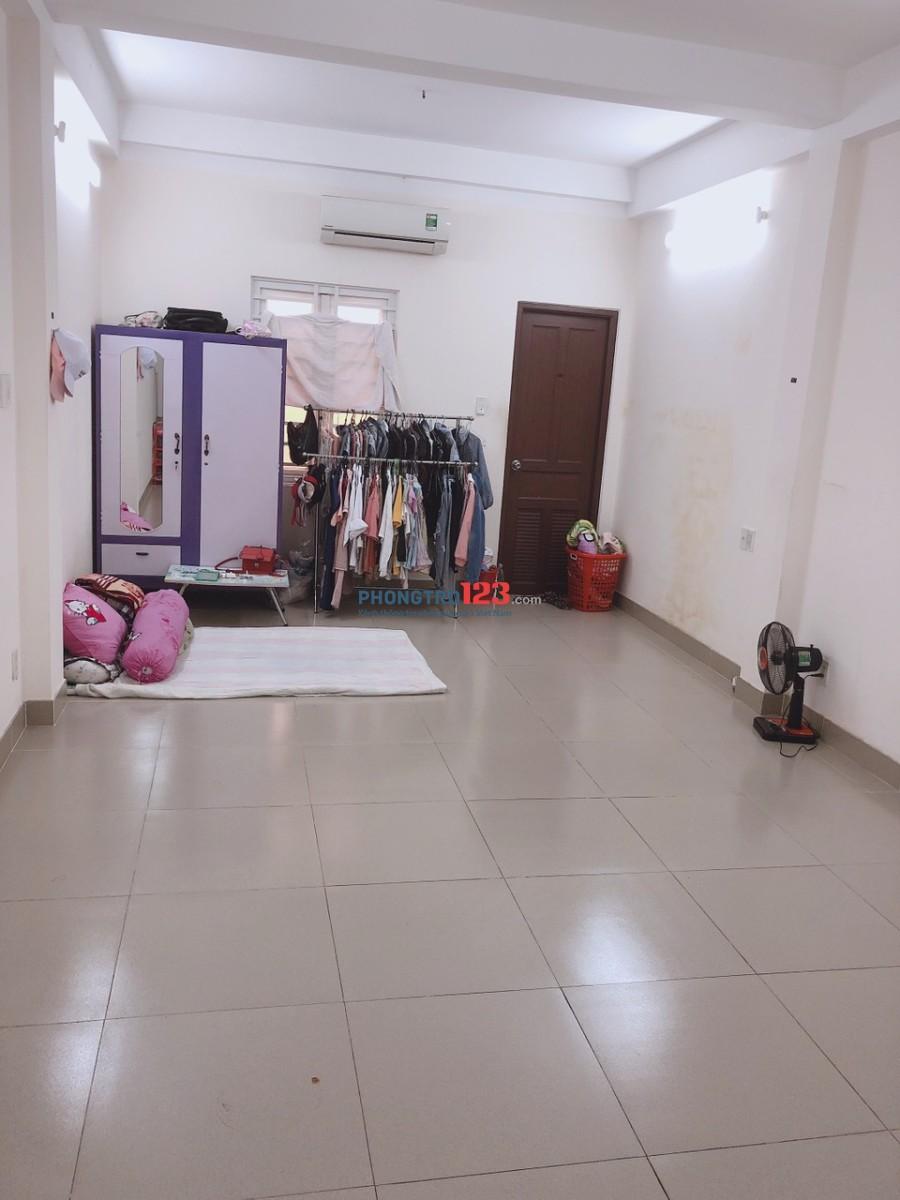 Tim gấp nữ ở ghép phòng máy lạnh quận Tân Phú tiện nghi, sạch sẽ