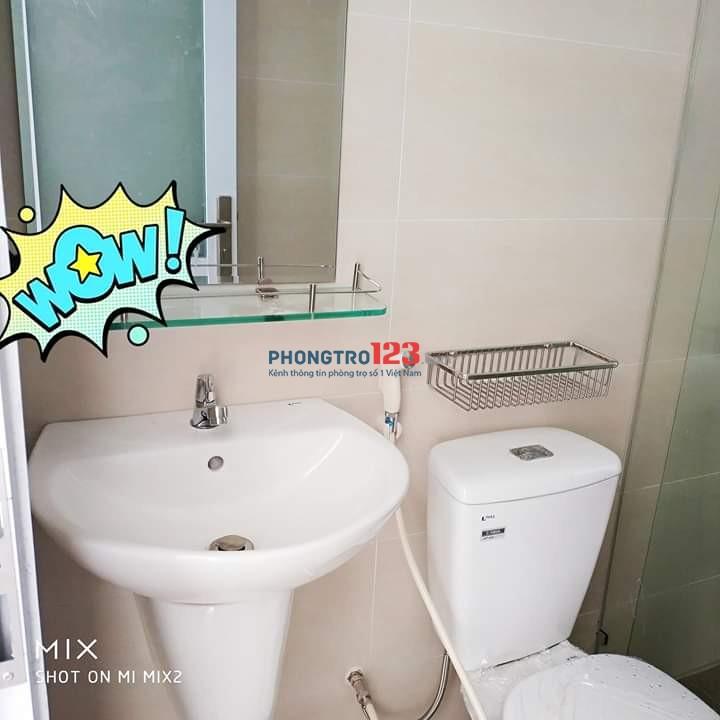 Căn hộ cao cấp 25m2 có bếp và toilet xịn 4.5tr