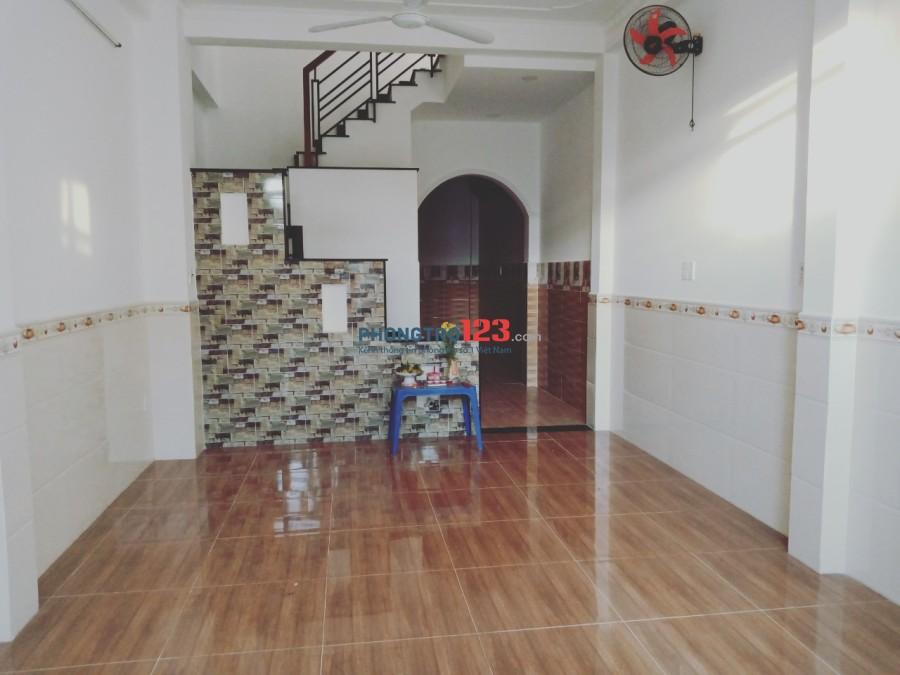 Cho thuê nhà mới nguyên căn 2 lầu mặt tiền 58 Sơn Kỳ, P.Sơn Kỳ, Q.Tân Phú. LH: Mr Vinh