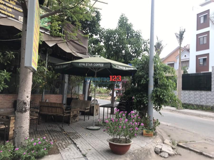 Cần sang lại toàn bộ quán cafe cơm văn phòng ngay góc 2 MT đường 52AP, P.An Phú, Q.2