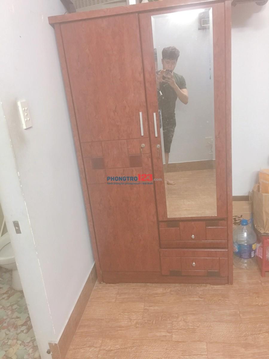 Phòng đẹp sàn gỗ full nội thất 30m2