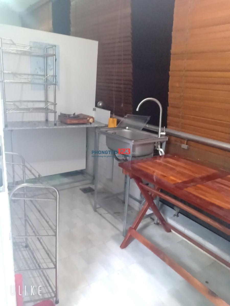 Cho thuê phòng full nội thất giá rẻ gần chợ Phạm Văn Hai