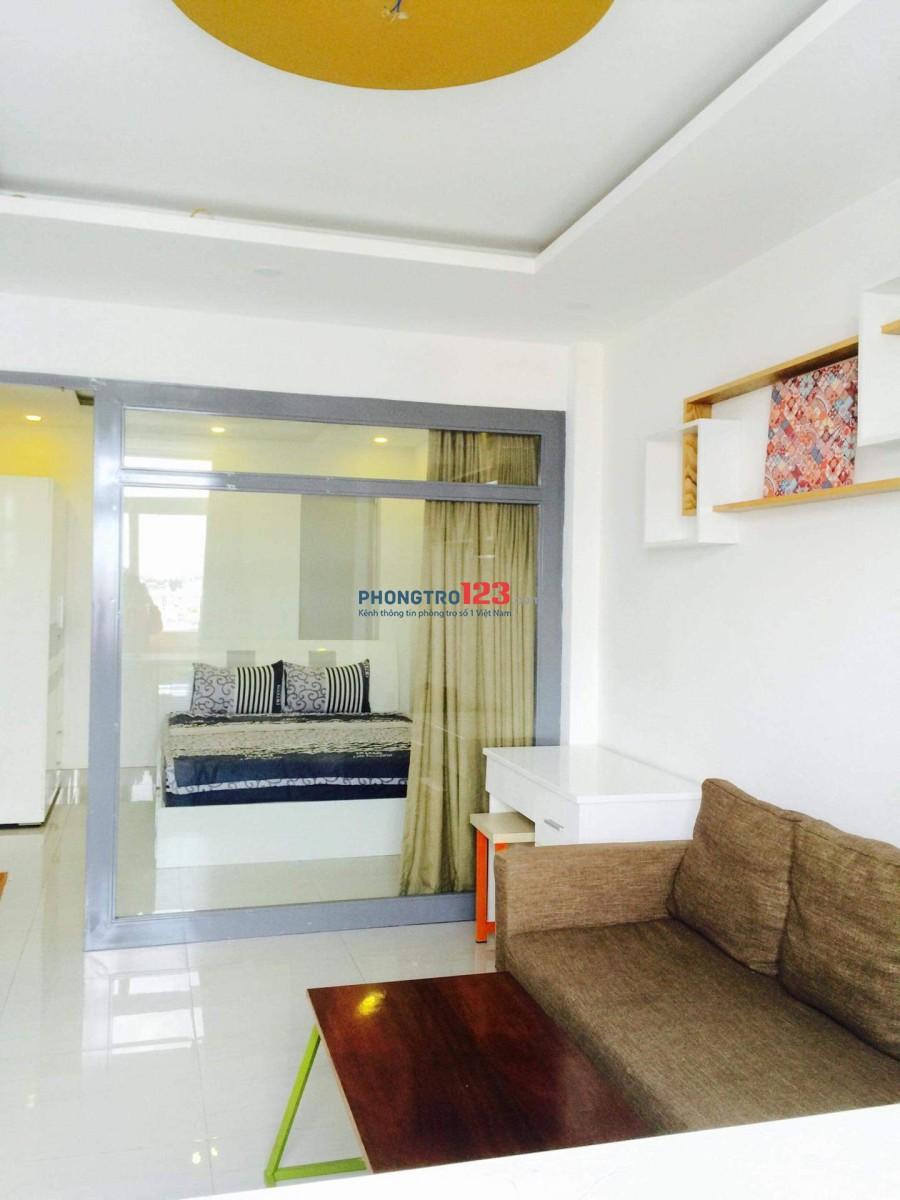 Phòng cao cấp cho thuê ngay mặt tiền đường Nguyễn Văn Khối, gần công viên Làng Hoa, Gò Vấp