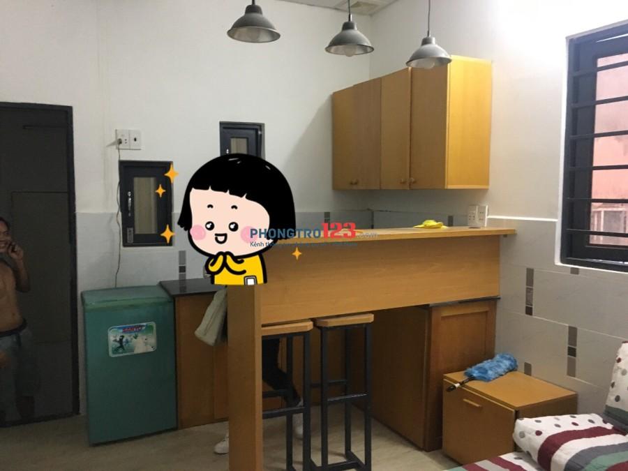 Nhượng phòng trọ quận Bình Thạnh đầy đủ nội thất