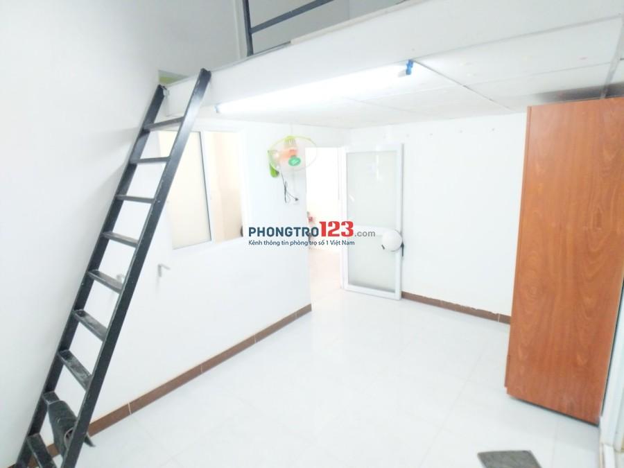 Cho thuê phòng full nội thất có gác wc riêng nhà hẻm xe hơi tại Bạch Đằng, Q.Bình Thạnh. Giá 5,5tr