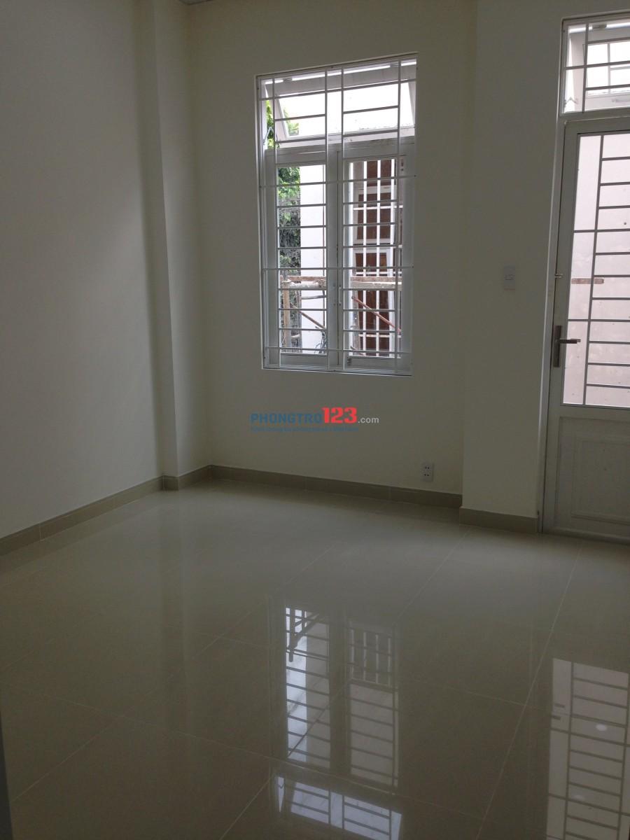 Cho thuê nhà nguyên căn mới đẹp 1 lầu gần cầu Tham Lương, Nguyễn Văn Quá, Q.12. Giá 6tr