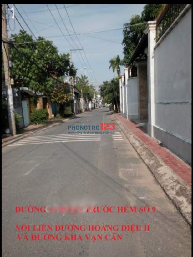 Cho thuê nhà nguyên căn 6,5x22m 1 lầu hẻm xe hơi tại đường số 16, P.Linh Chiểu, Thủ Đức