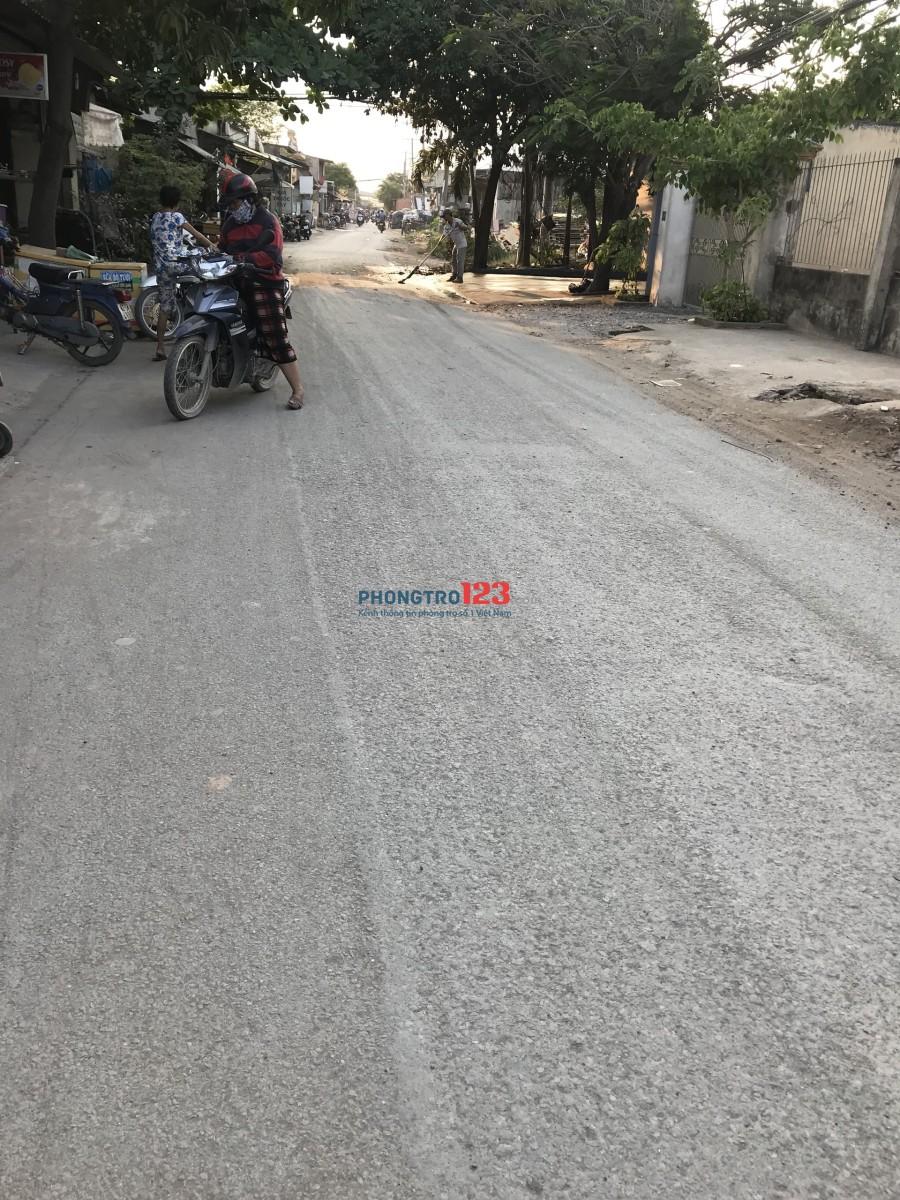 Cho thuê 400m2 kho xưởng mới xây mặt tiền Công Nghệ Mới, Huyện Bình Chánh. LH: Mr Hoàn