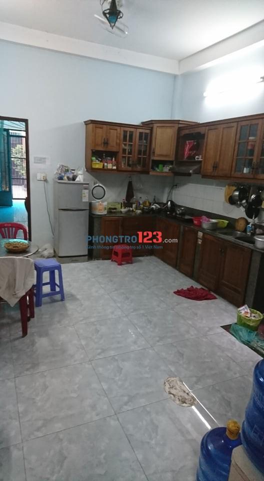 Cho thuê phòng trọ gần chợ rau Lê Văn Thọ