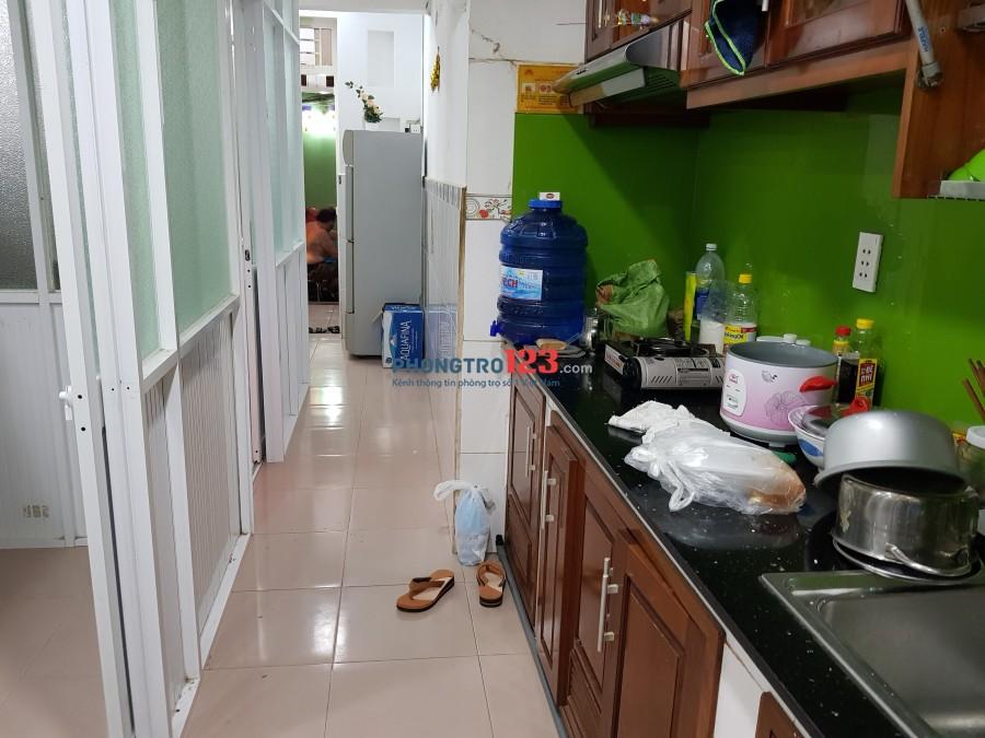 Phòng trọ 3,3tr, nội thất, có bếp, Bùi Viện, Q.1