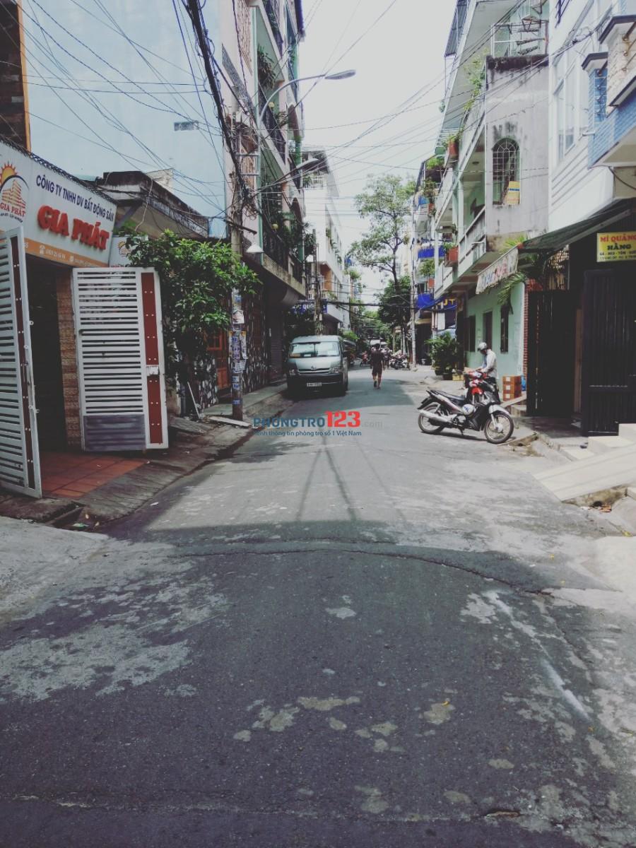 Cho nữ thuê phòng có máy lạnh tại Báu Cát 1, Q.Tân Bình, giá 1,45tr/tháng. LH Ms Như
