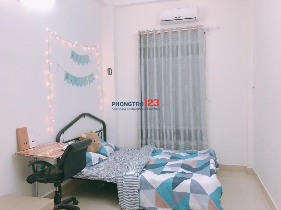 Cho thuê phòng dài hạn, full nội thất tại hẻm 153 Nguyễn Thượng Hiền, Q.Bình Thạnh, giá 4,5tr