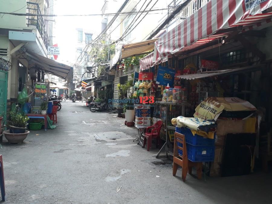 Cho thuê nhà HXH 79/11/5 Trần Văn Đang, Q.3, 3L Sân thượng, 3P3W, 3,5x12m 15,8tr
