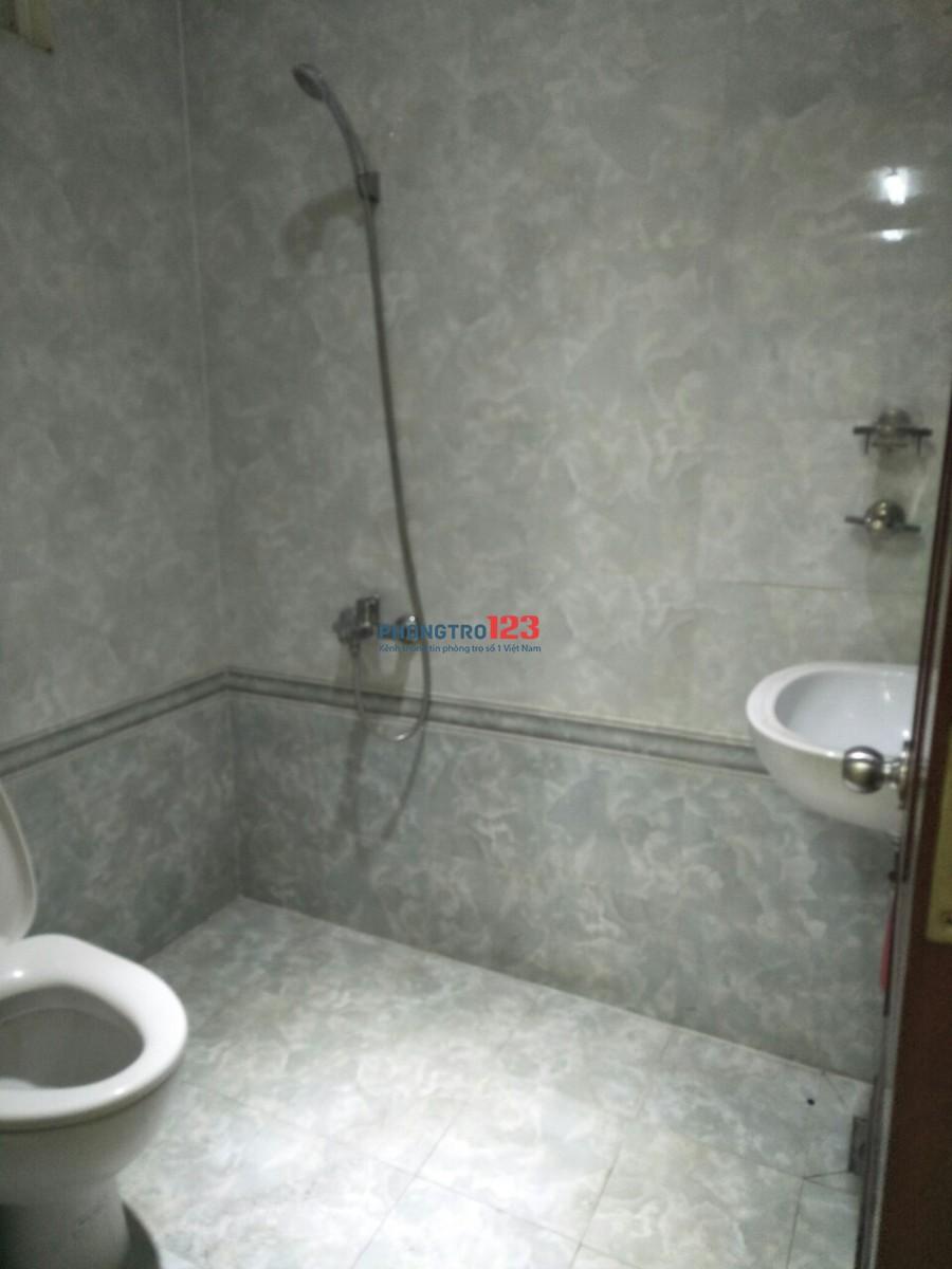 Chính chủ cho thuê phòng có máy lạnh, 40m2, giá 5,6tr/tháng đường Nguyễn Thái Bình