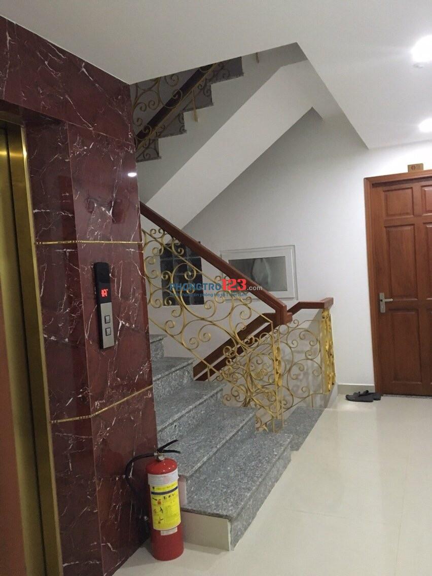 Phòng đủ tiện nghi 36m2, máy giặt riêng trong phòng