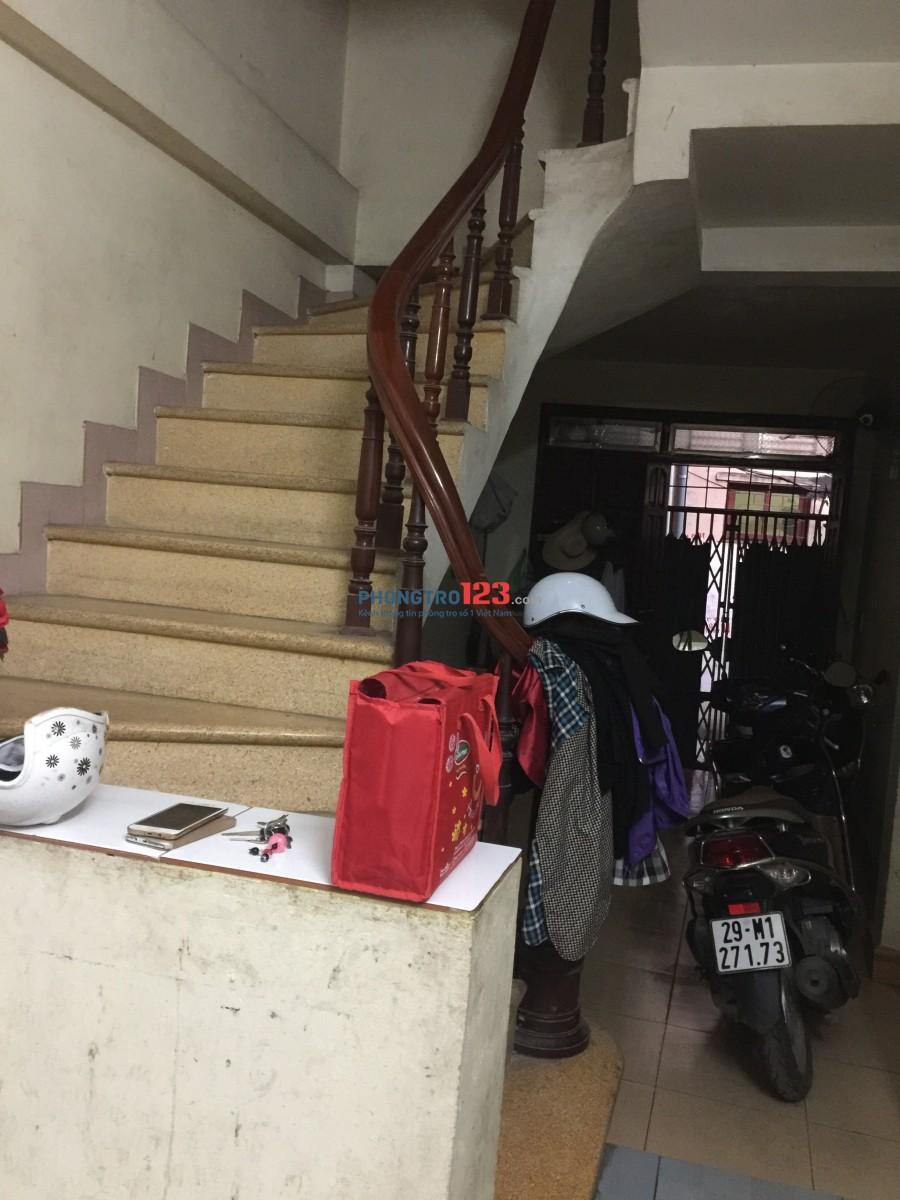 Tìm nữ ở ghép - đường Đê Trần Khát Chân- Hà Nội