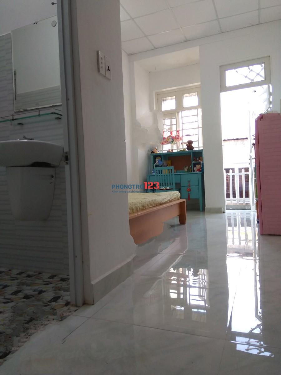 Thuê phòng trọ phường 1, Gò Vấp, dt 25m2