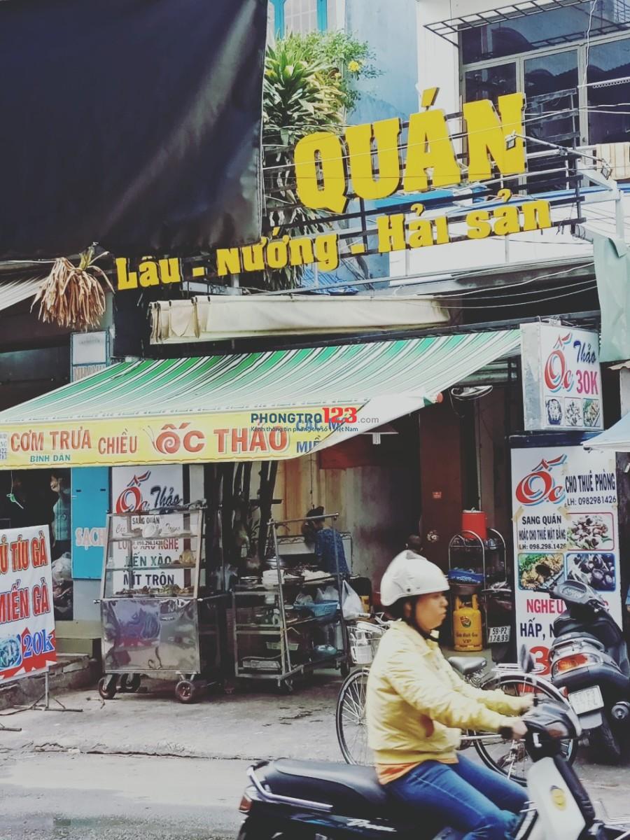Cho thuê mặt bằng đường xe tải 5x12m có sẵn đồ tại 373/165 Lý Thường Kiệt, Q.Tân Bình