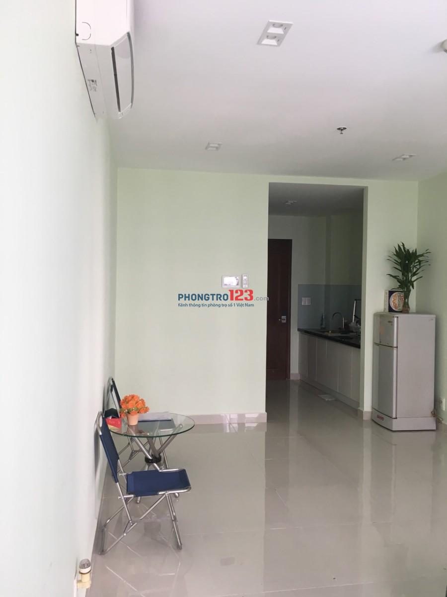 Cho thuê căn hộ officetel Sky Center 34m2 1pn, 1wc tại Phổ Quang, Q.Tân Bình. Giá 10tr/tháng