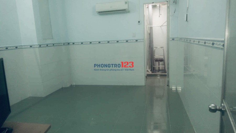 Phòng cho thuê giá rẻ phía sau Vạn Hạnh mall. Camera an ninh 24/24