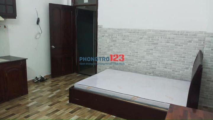 Phòng trọ đầy đủ tiện nghi, 25m2, thoáng đối diện Etown Tân Bình