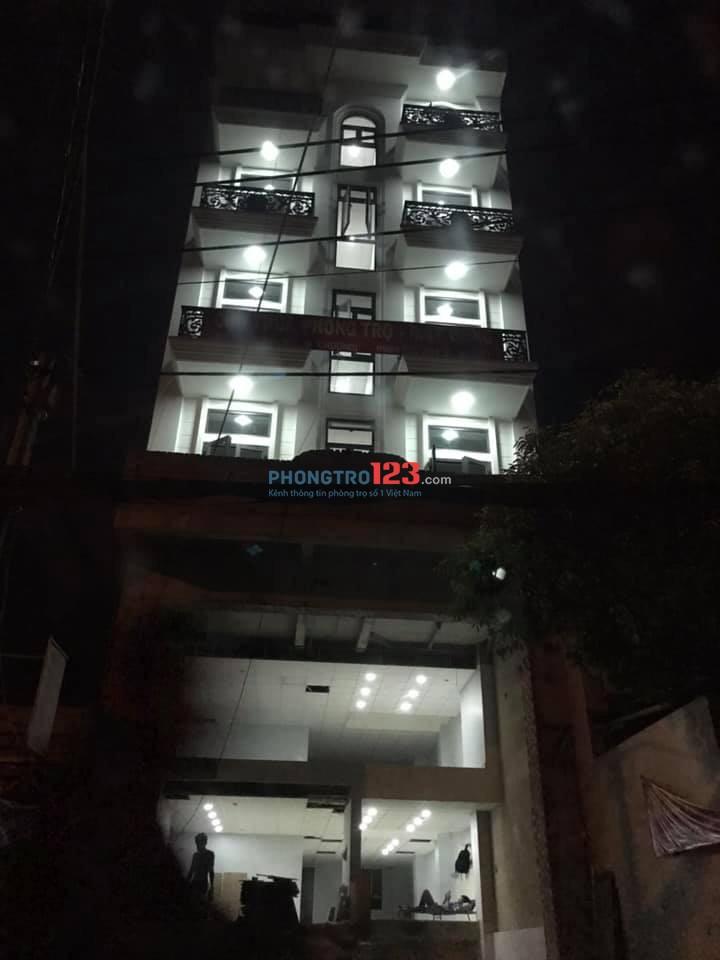 Cao ốc cho thuê phòng trọ đẹp quận Tân Bình