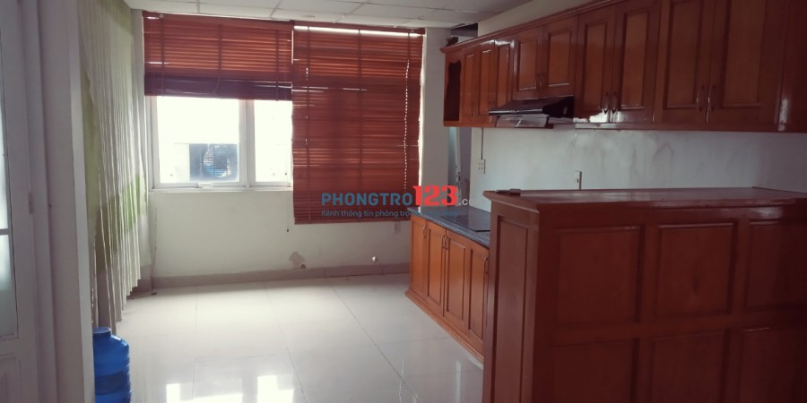 Căn hộ 1 phòng ngủ 40m2 giá rẻ Phạm Văn Bạch, đầy đủ tiện nghi, giờ giấc tự do